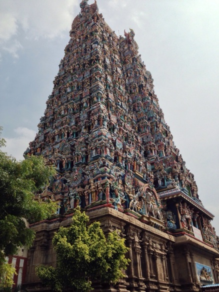 Meenakshi Temple Gopuram