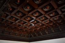 Rosewood and Teak Roof Carvings