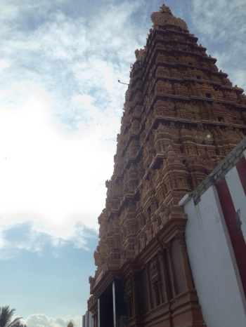 Gopuram of Nallur Temple
